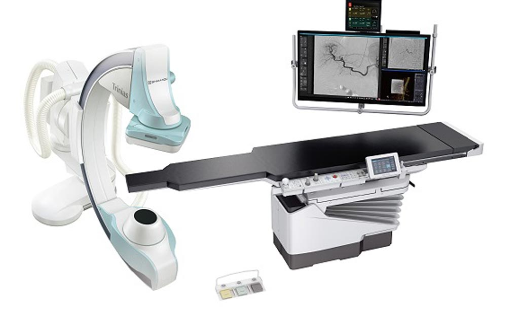 Image: The new Trinias series unity edition angiography system is available in 10 different models that support interventions in all regions of the body (Photo courtesy of Shimadzu).