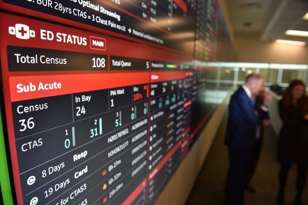Imagen: El centro de comando que funciona con IA permitirá reunir todos los elementos de la experiencia hospitalaria de un paciente (Fotografía cortesía de Business Wire).