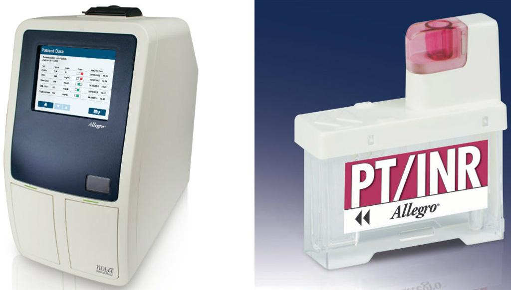 Image: Nova Biomedical adds PT/INR test to Allegro analyzer for POC testing (Photo courtesy of Nova Biomedical)