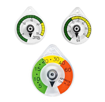 Color-Coded Manometers