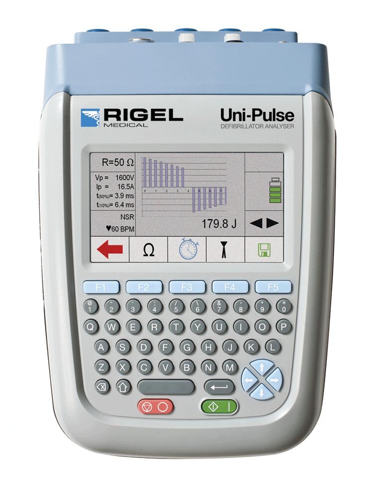 Rigel 344 defibrillator analyzer manual