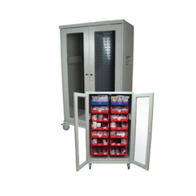 Harloff Visual Bin Storage Carts