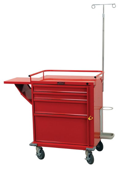 V-Series Emergency Cart (short cabinet height)