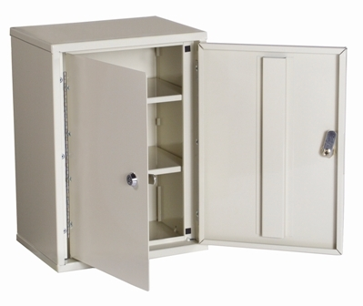 Narcotics Cabinet Double Door Double Lock Medium 2702