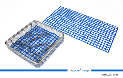 VICOLAB ® SILICONE  COVER MAT OR ON BOTTOM  OF WASHING TRAYS