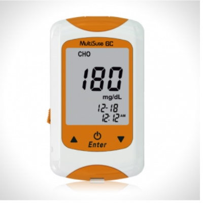 Blood Glucose & Cholesterol Monitor