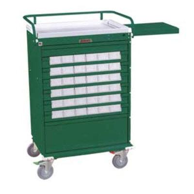 Value Line Med Bin Cart with 36 – 3.5 inch Bins, Key Locking