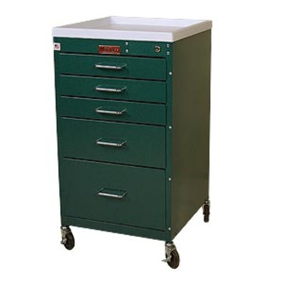 Five Drawer Mini Line Cart with Key Lock,Standard Package